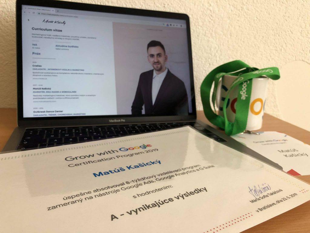 grow with google certifikat
